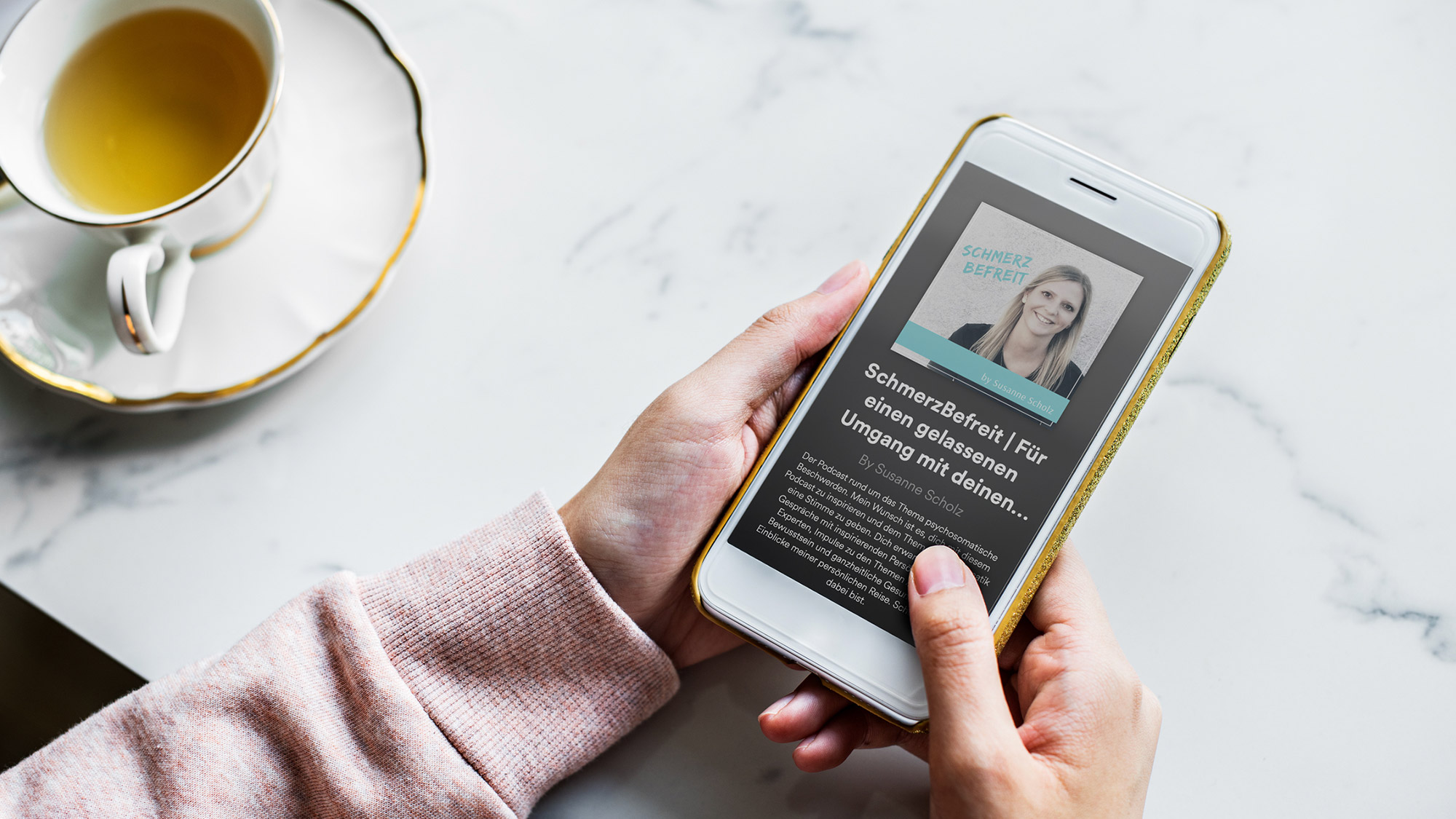 Folge 11 – Meditations-App für Schmerzpatienten: Interview mit Anna Rosenbaum von 7Mind und Dr. Böger vom Schmerzzentrum Kassel
